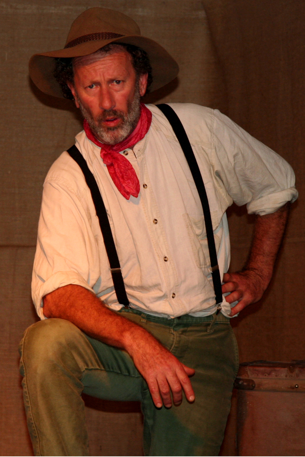 Ironbark: An Evening with Banjo Paterson directed by Lis Shelley (Actor: John Samuels)