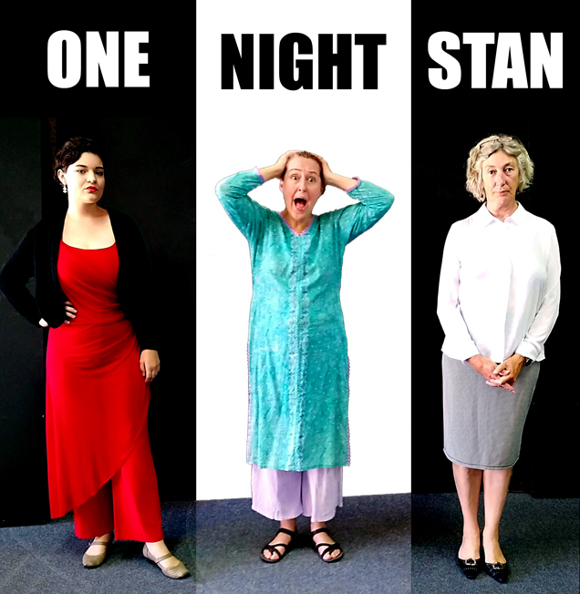 One Night Stan directed by Lis Shelley (Actors Sarah Dangers, Jennifer Willcox, Elizabeth Brennan) written by Adam Szudirch